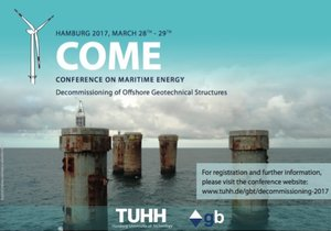 Conference on Maritime Energy - Decommissioning of Offshore Geotechnical Structures.