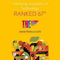 Hamburg University of Technology ranked 67th.